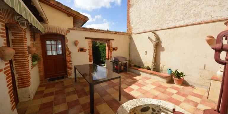Jolie Maison de village ancienne 4 ch avec piscine.A.B.I - Agence Bourdarios Immobilier - A.B.I  Agence Bourdarios Immobilier-2