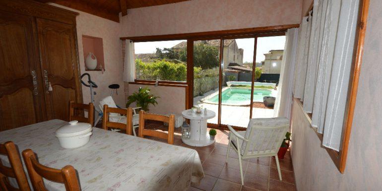 Jolie Maison de village ancienne 4 ch avec piscine.A.B.I - Agence Bourdarios Immobilier - A.B.I  Agence Bourdarios Immobilier-3