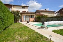 Jolie Maison de village ancienne 4 ch avec piscine.A.B.I - Agence Bourdarios Immobilier - A.B.I  Agence Bourdarios Immobilier-1
