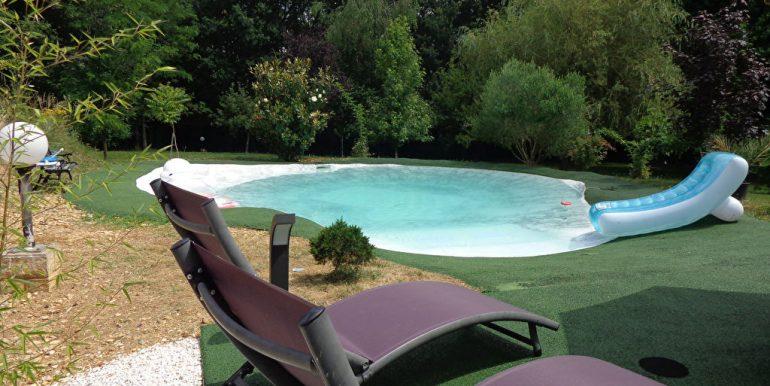 Fermette rénovée + piscine et dépendance à 15 min L'Isle JourdainA.B.I - Agence Bourdarios Immobilier - A.B.I  Agence Bourdarios Immobilier-4