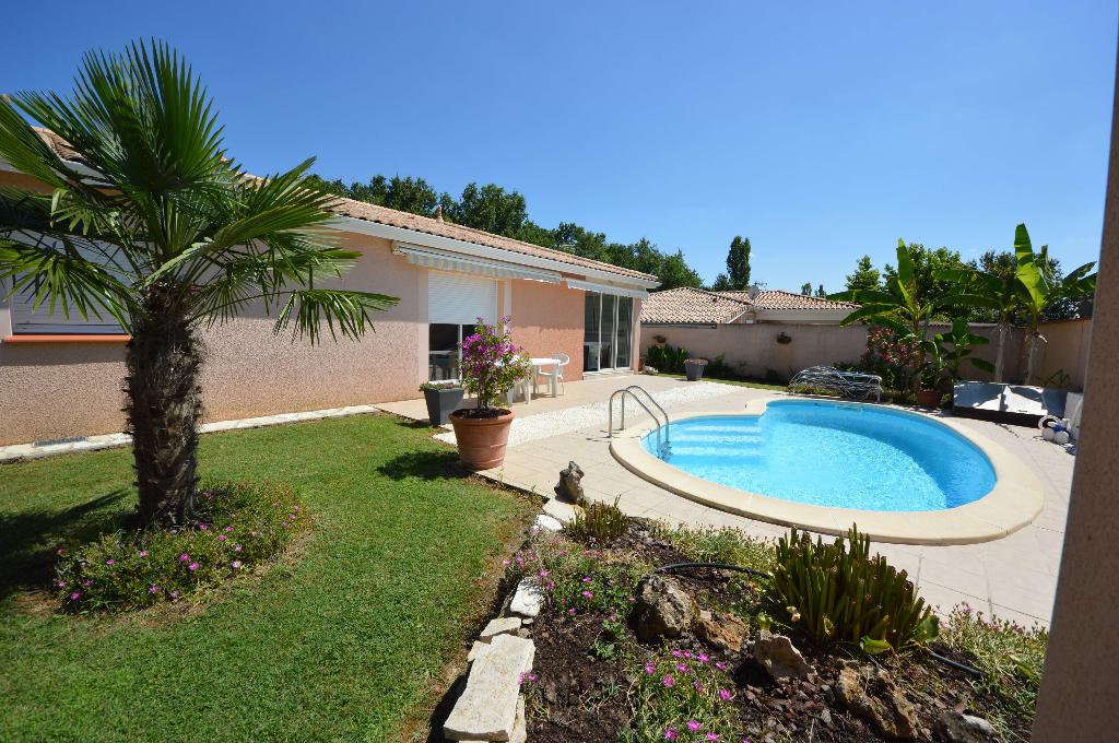 Maison Contemporaine 118 m² Montauban Ouest, piscine, dépendances