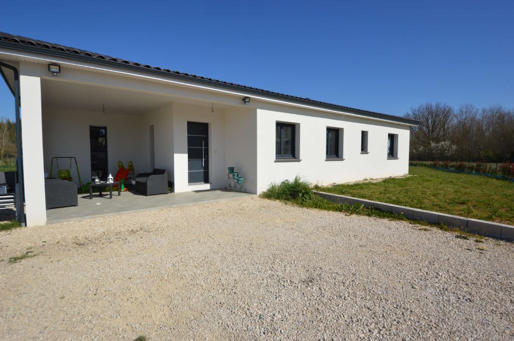 Maison contemporaine de 2018. T5 de 125 m² à 20 minutes Montauban Est