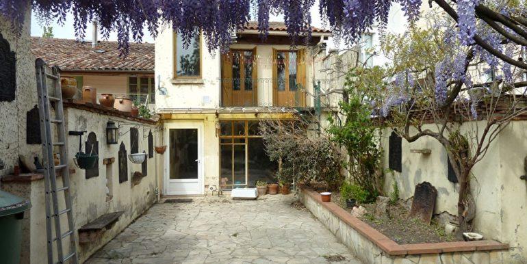 Maison de ville début XXème Montauban 190 m2 - Grand JardinA.B.I - Agence Bourdarios Immobilier -  A.B.I  Agence Bourdarios Immobilier-1