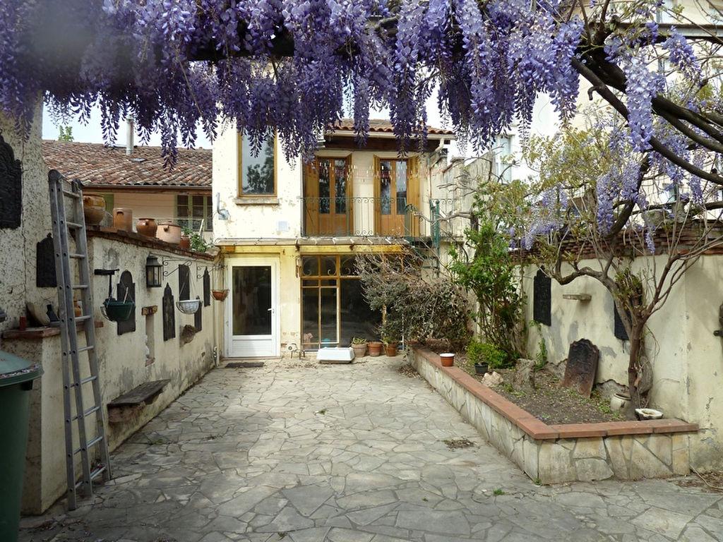 Maison de ville début XXème Montauban 190 m2 – Grand Jardin