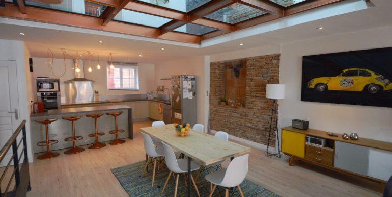 Superbe Maison Loft avec Garage - Montauban CentreA.B.I - Agence Bourdarios Immobilier -  A.B.I  Agence Bourdarios Immobilier-4