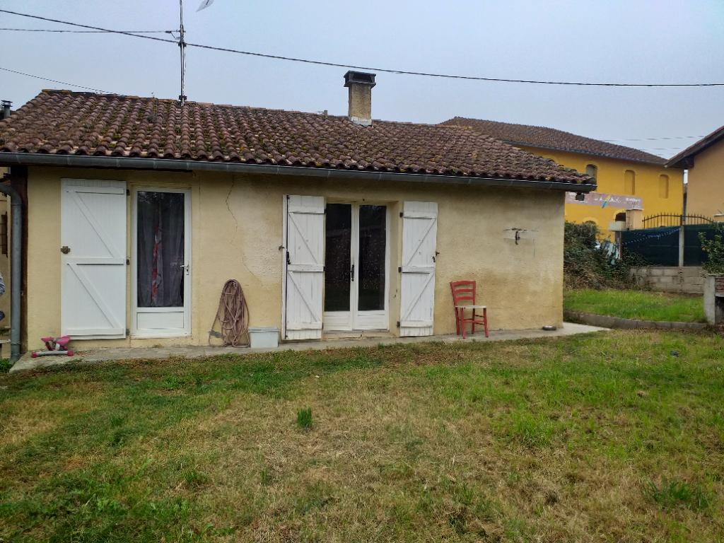 Maison individuelle ancienne 3 pièces