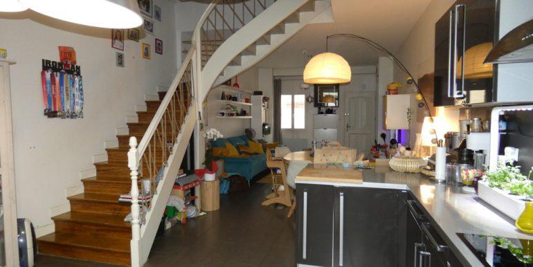 Maison de ville 4 chambres avec cour et dépendanceA.B.I - Agence Bourdarios Immobilier - A.B.I  Agence Bourdarios Immobilier-4