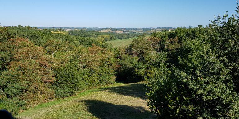 Maison ossature bois sur pilotis avec sa vue panoramique sur  la vallée à 20 mn de MontaubanA.B.I - Agence Bourdarios Immobilier - A.B.I  Agence Bourdarios Immobilier-3
