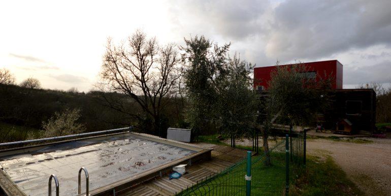 Maison ossature bois sur pilotis avec sa vue panoramique sur  la vallée à 20 mn de MontaubanA.B.I - Agence Bourdarios Immobilier - A.B.I  Agence Bourdarios Immobilier-9